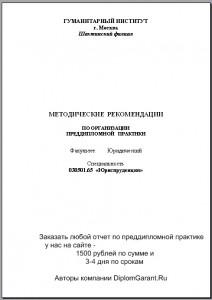 отчет по преддипломной практике на заказ
