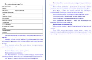 Требования к отчету по практике сга 9518